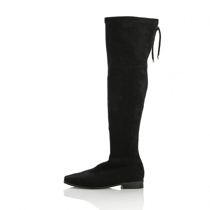 Span Thigh high boots MD20FW1076 -Black