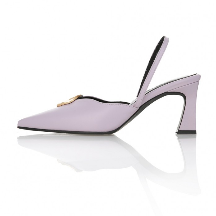 MD1065 Wave Line Point Slingback Violet